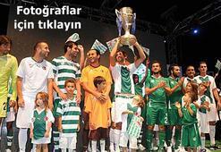 Şampiyon Bursaspor'un yeni formaları tanıtıldı
