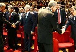Erdogan, Davutoglu und Kilicdaroglu kamen zur heiligen Geburtsfeier zusammen
