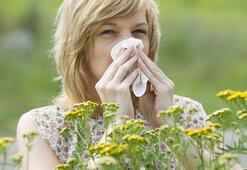 Baharda alerjik nezleye dikkat