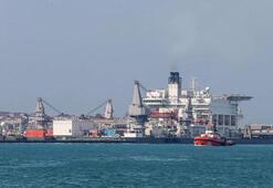 TürkAkım doğalgaz boru hattı Türk kıyılarına ulaştı