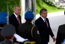 Cumhurbaşkanı Erdoğan Özbekistanda