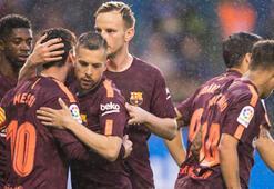 Deportivo La Coruna düştü, Barcelona şampiyon