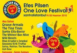 Bu hafta sonu Efes Pilsen One Love Festivaldayız