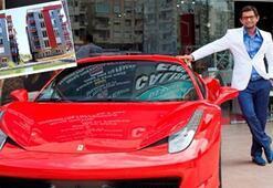 Ferrarili müteahhidin sitesi madde bağımlılarına kaldı