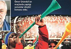 Vuvuzela tartışmasını gölgede bırakan adam