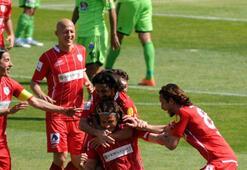 Samsunspor, fişi ikinci yarıda çekti