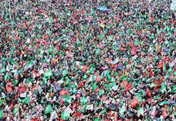 Kutlu Doğum Haftası mitingine on binlerce kişi katıldı