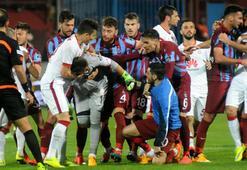 Trabzonda 90+2de saha karıştı