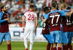 Antalyaspor - Trabzonspor: 1-2 (İşte maçın özeti)