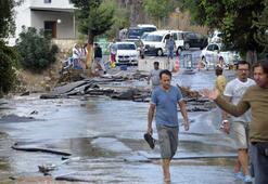 Bodrum'da bayram öncesi sel felaketi