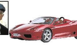 Ferrari'li rahip hapse girdi