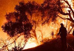 Californiadaki yangının boyutu New Yorku geçti