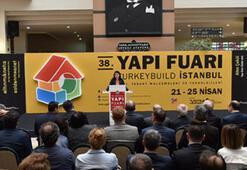 Türk yapı sektörünün tek yapı fuarı açıldı