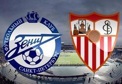 Zenit Sevilla maç sonucu ve özeti