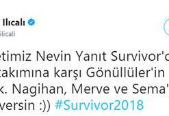 Survivor 2018da Nevin Yanıt bombası