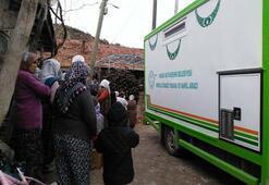 Alevler içinde kalan bebek hayatını kaybetti