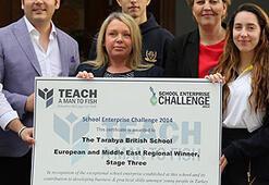 Tarabya İngiliz Okullarına Dünya Girişimcilik Ödülü