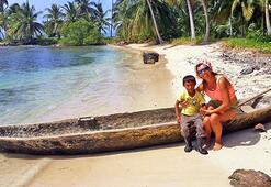 'Balıkçıl' yelkenlisi, Panama'ya ulaştı