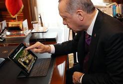 Cumhurbaşkanı Erdoğan, AA Yılın Fotoğrafları oylamasına katıldı