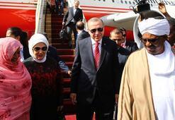 Cumhurbaşkanı Erdoğan Sudanda Tarihte bir ilk...