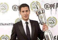 İngiltere Liginin en iyi futbolcusu Eden Hazard