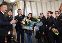 Sabiha Gökçen, 31 milyonuncu yolcusunu karşıladı