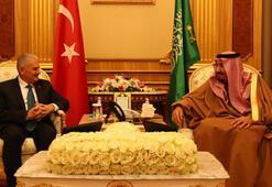 Başbakan Yıldırım, Kralı Selman ile görüştü