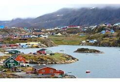 Kuzey ışıkları ile ünlü buzdan bir ada: Grönland
