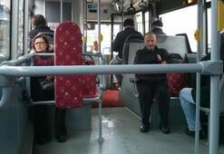 Terör korkusu toplu taşımayı boşalttı