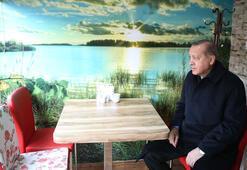 Erdoğan Börekçiye gitti