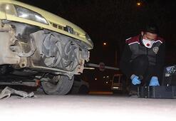 Tamponu çalınan araç sahibi büyük şok yaşadı
