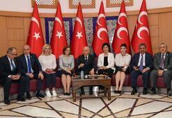 MHP Lideri Bahçeli adaylık başvurusunu yaptı