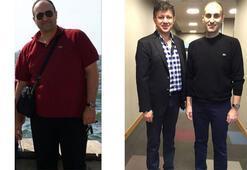 Sekiz ayda 70 kilo verdi