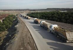 İstanbulda hafriyat kamyonlarına büyük takip