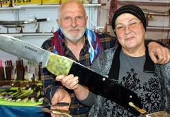 Bıçakcı Ablanın ürünleri yok satıyor