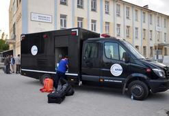 8 öğrenci cıva zehirlenmesi şüphesiyle Ankaraya sevk edildi
