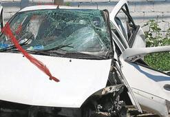 Düğün sonrası kaza genç çifti ayırdı: 3 ölü