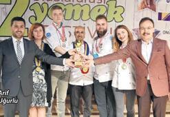 60 ülkeden lezzetler Kemalpaşa'da buluştu
