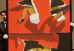 Burhan Doğançayın tablosu 850 bin liraya satıldı