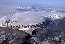 NASA, Kuzey Kutbunda daha önce hiç görmediği gizemli buzullar buldu