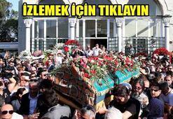 Oya Aydoğanın cenazesinde selfie çılğınlığı