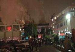 Ankara Numune Eğitim ve Araştırma Hastanesinde yangın