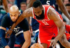 Rockets ile Jazz tur kapısını araladı