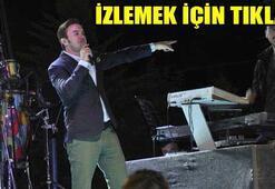 Mustafa Cecelinin konserinde müdahale