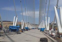 3.köprünün asfaltı tamam