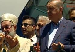 Erdoğan cami açılışında konuştu