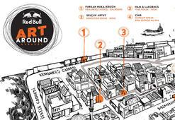 Red Bull Art Around 5-12 Mayısta Karaköyde