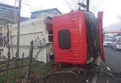 Piyalepaşa Bulvarında çöp kamyonu dehşeti: 3 yaralı