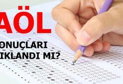 AÖL sonuçları açıklandı mı Açık Lise sınav sonucu sorgula