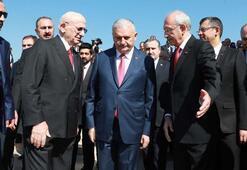 Son dakika Devlet erkanı Anıtkabiri ziyaret etti